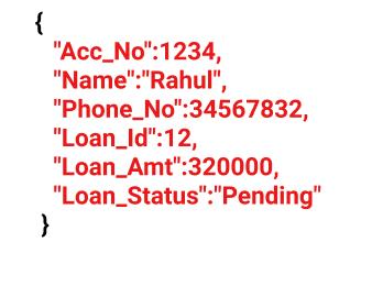 nosql saving in document example