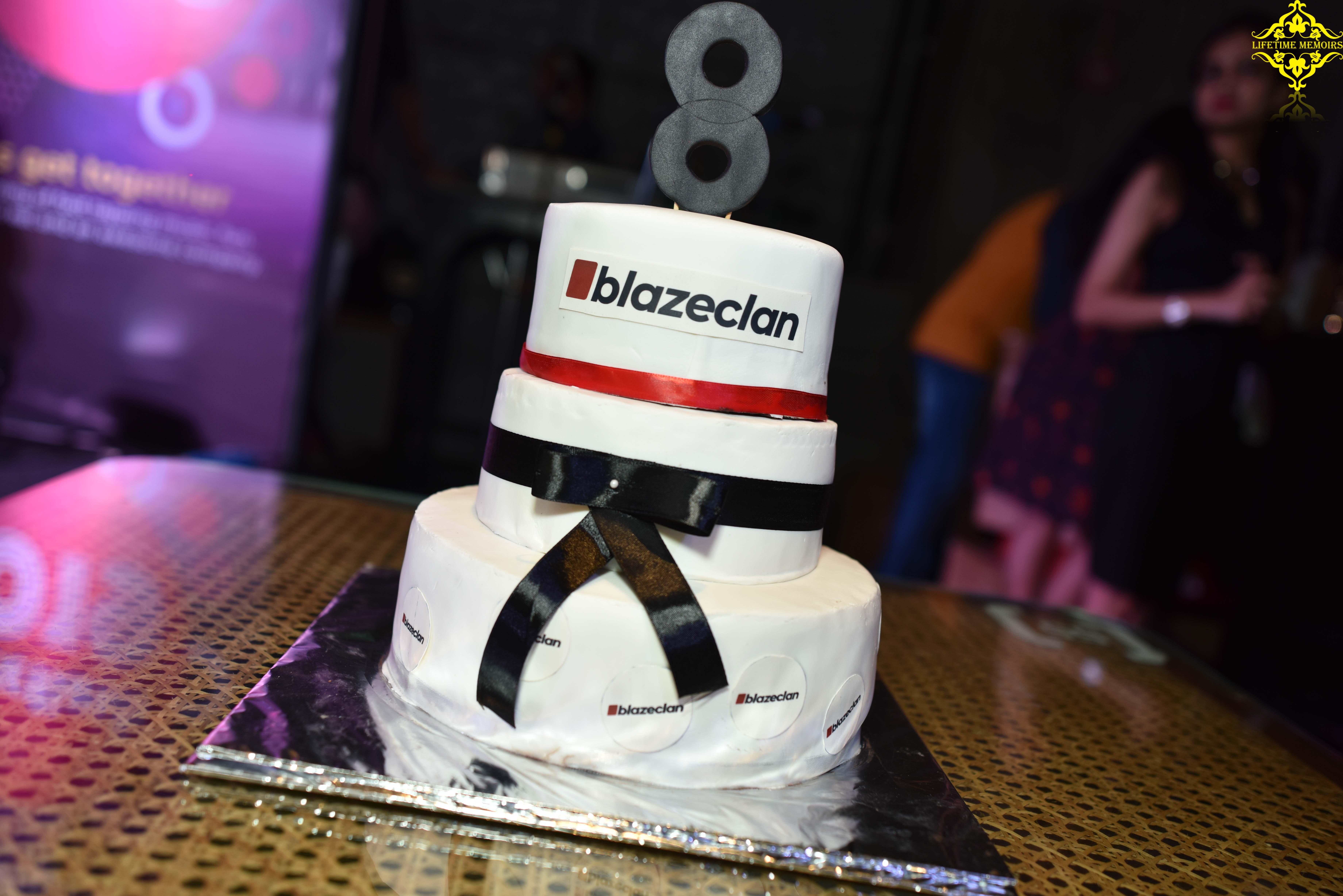 blazebash celebration cake